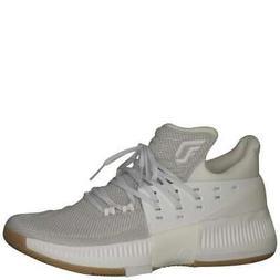 men s dame 3 white white gum