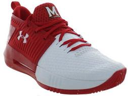 Under Armour Men's Drive 4 Low Lace-Up Basketball Shoes Whit