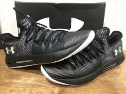 Under Armour Men's Drive 5 Low Basketball Shoes Black /White