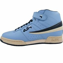 Fila Men's F13 F 13 Powder Blue Leather High Top Casual Clas
