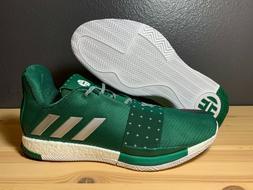 Men's Adidas Harden Vol 3 TB Basketball Shoes Green D97174 S