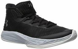 Under Armour Men's Jet Mid Basketball Shoe, Black/Steel/Whit