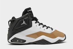 MEN'S Nike JORDAN B'LOYAL BASKETBALL SHOES White/ Black/ Gol