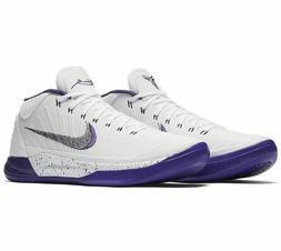 Nike Men's KOBE AD MID BASELINE Basketball Shoes White/Purpl