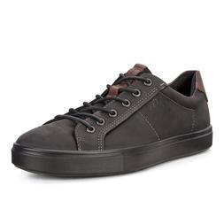 Ecco Men's Kyle Street Tie Sneaker Leather Low Cut Fashion L