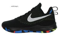 """Nike Men's """"Lebron Witness III"""" Black Grey Basketball Shoes"""