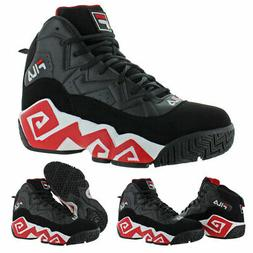 Fila Men's MB Leather Retro High-Top Basketball Trainers Sho