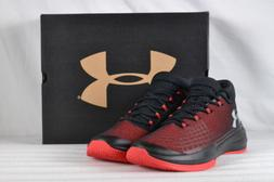 pretty nice c707f 95050 Men s Under Armour Next TB Basketball Shoes Black Red