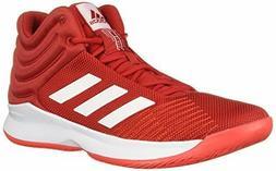 adidas Men's Pro Spark 2018 Basketball Shoe,, Scarlet/White/