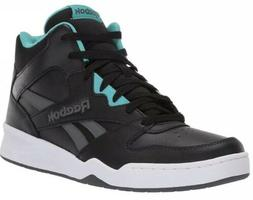 Reebok Men's Royal BB4500 Hi2 Shoes DV7011 - Black/Teal/Gray