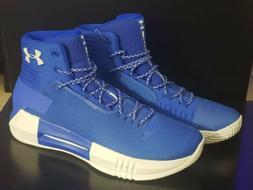 Under Armour Men's Team Drive 4 Basketball Shoe - Blue. Size