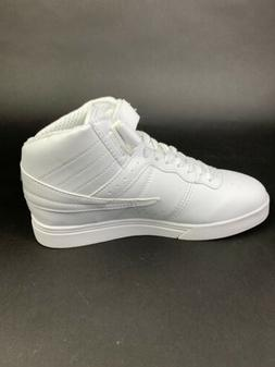 Fila Men's Vulc13 Plus White Leather Fashion Sneakers Basket