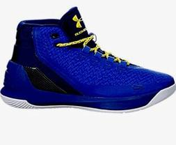 Men UA Under Armour Curry 3 ZERO SC30 Basketball Shoes Royal