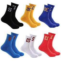men women sport sock basketball running athletic