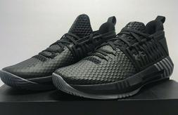 Under Armour Mens 9.5 Womens 11 UA Drive 4 Low Basketball Bl