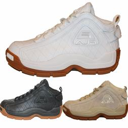 Mens FILA 96 QUILTED Grant Hill Retro Basketball Shoes Sneak