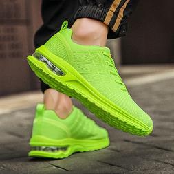 Mens Air Cushion Running Tennis Shoes Lightweight Sport Jogg