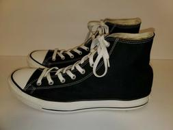 Mens Converse All Star Chuck Taylor High Top Sneakers Black