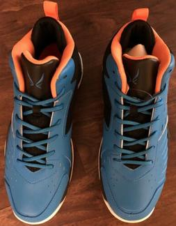 Men's Basketball Athletic Sneakers Shoes Size 9 Blue/Black