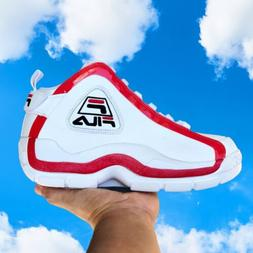 Men's Basketball Shoes Size 7 Grant Hill Red White FILA Tu