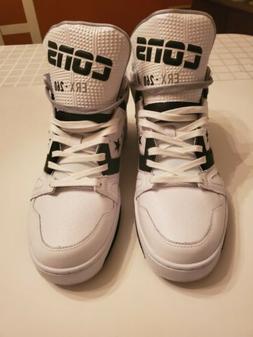 Mens Converse Cons ERX 260 Basketball Shoes White/Black/Gray
