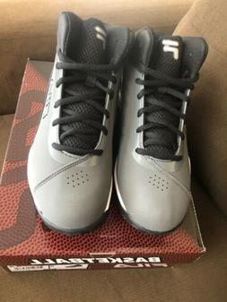 Fila Men's Contingent Basketball Sneakers CSRK/BLK/MSIL Si