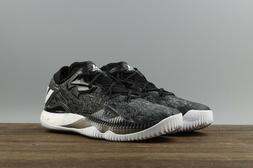 Mens Adidas Crazylight Boost Low 2016 Black Basketball Shoes