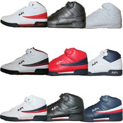 new product 91362 4476d Mens Fila F13 F-13 Classic Mid High Top Basketball Shoes Sne