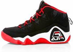 Mens Fila Grant Hill 1 Retro Athletic Basketball Shoes Black