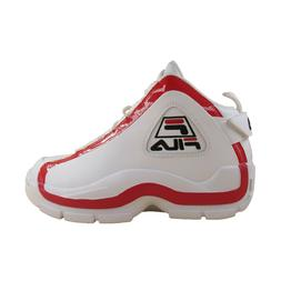 Mens Fila Grant Hill 2 Retro Casual Basketball Shoes White R