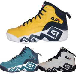 Editorial Pick Mens FILA Jamal Mashburn MB Retro Basketball Shoes Sneakers f4f069bbf