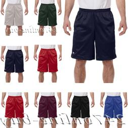 Champion Mens Long Mesh Gym Shorts with Pockets Athletic fit