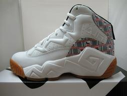 Mens Fila MB Haze Jamal Mashburn Retro Basketball Shoes Whit