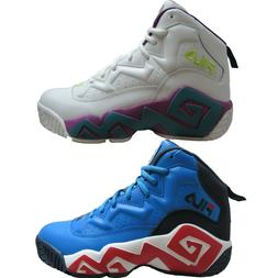 Mens Fila MB Jamal Mashburn Retro Throwback Basketball Shoes