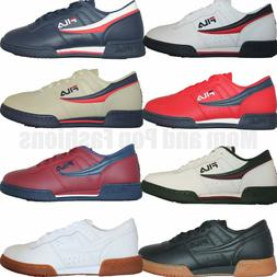 Mens Fila Original Fitness Classic Retro Casual Athletic Sho