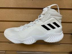 Adidas Mens Pro Bounce 2018 Basketball Shoes -White-Brand Ne
