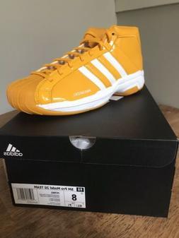 Adidas Mens Pro Model 2G SM Team FV7062 Basketball Shoes NIB