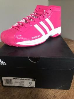 Adidas Mens Pro Model 2G SM Team FV7064 Basketball Shoes NIB