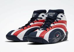 Mens Reebok Shaqnosis Basketball Shoes Athletic Sport Mid Sn