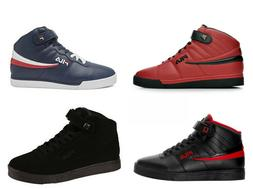 Mens Fila Vulc 13 Mid Plus Suede Leather Mid High Top Casual