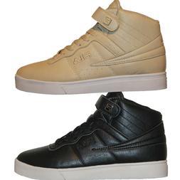Mens FILA VULC 13 MP Mid Plus DISTRESS Retro Basketball Shoe