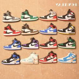 HowPlay mini sneakers keychains jordan 1 <font><b>bag</b></f