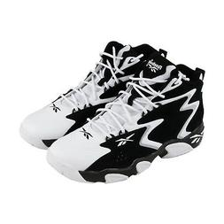 Reebok Mobius Og Mu Mens White Black Leather Athletic Basket