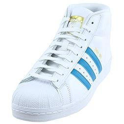 adidas Originals Men's PRO Model Running Shoe, White/Mystery