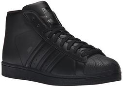 adidas Originals Men's Pro Model Fashion Sneaker, Black/Blac