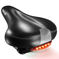 ProVelo Most Comfortable Bike Seat for Men Women - Wide Soft