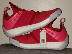 NEW Adidas James Harden Vol. 2 Red Mens Size 11 Basketball S