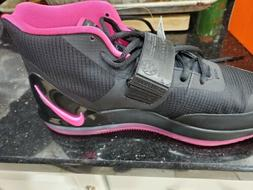 New Nike Air Force Max AR0974-004 Black Pink Blast Men's Bas