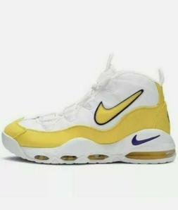 "New Nike AIR MAX UPTEMPO '95 Basketball Shoes ""Lakers"" Yello"