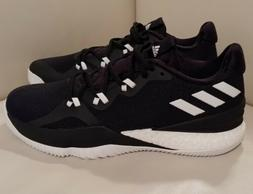 NEW - ADIDAS CRAZYLIGHT BOOST 2 Basketball Shoes  Black/Whit